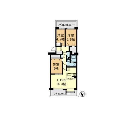 シティ194横浜・鴨居 604号室