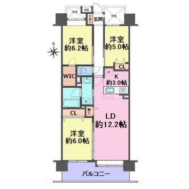 コスモ王子ガーデンズ グランプラザ B棟 314号室