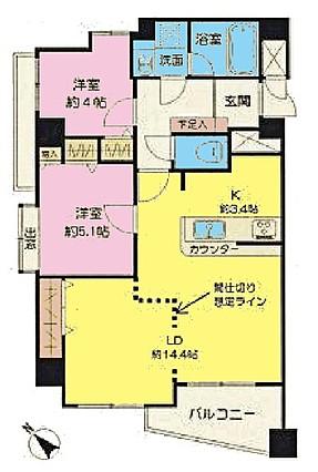 レクセル瑞江 701号室