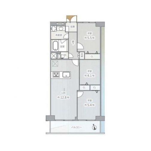ヴェラハイツ葛西 608号室
