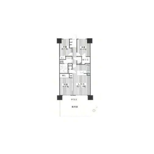 ファミングタウン相模大野 1階 3LDK